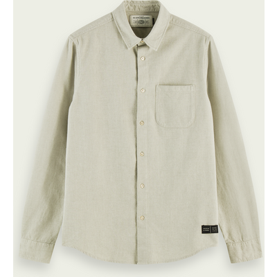 Scotch & Soda Oxford-Shirt aus 100 % gerauter Baumwolle | SCOTCH & SODA SALE