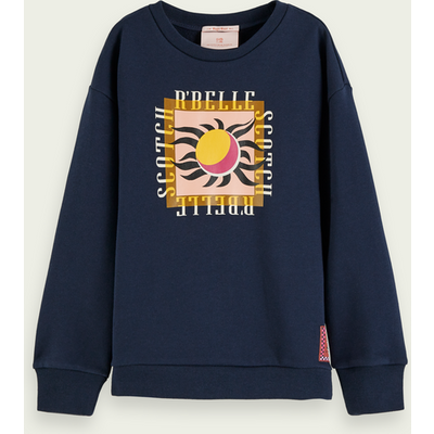 Scotch & Soda Sweatshirt aus Bio-Baumwolle mit Artwork-Print | SCOTCH & SODA SALE