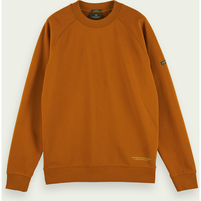 Scotch & Soda Sweatshirt aus Bio-Baumwoll-Felpa | SCOTCH & SODA SALE