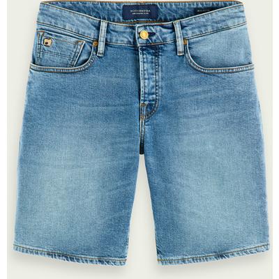 Scotch & Soda Ralston Shorts – Midday Blauw, Slim Fit