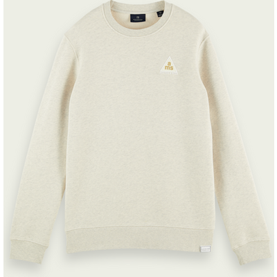 Scotch & Soda Sweatshirt mit Rundhalsausschnitt aus reiner Baumwolle | SCOTCH & SODA SALE