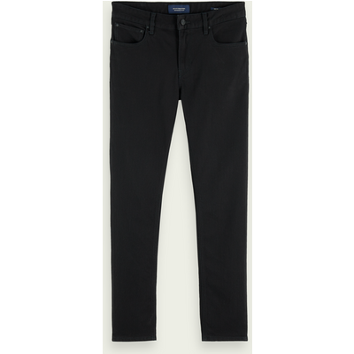 Scotch & Soda Skim– Stay Black, Super Slim Fit Bio-Jeans