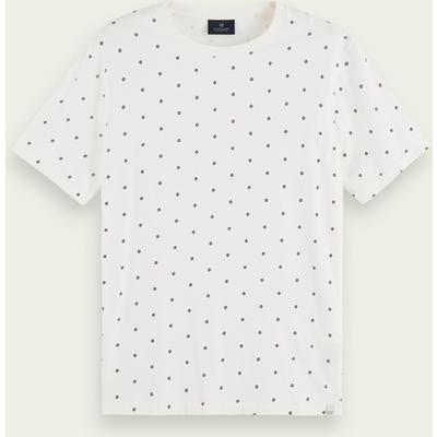 Scotch & Soda T-Shirt aus Bio-Baumwolle mit Allover-Print