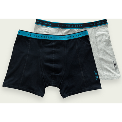 Scotch & Soda Boxershorts aus Baumwollstretch im 2er-Pack