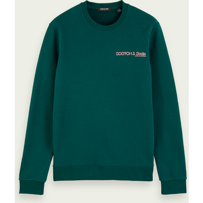 Scotch & Soda Rundhals-Sweatshirt mit Scotch & Soda Logo | SCOTCH & SODA SALE