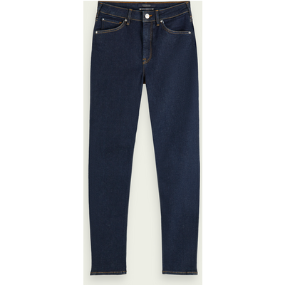 Scotch & Soda Haut – French Blue, High-Rise Skinny Fit Jeans