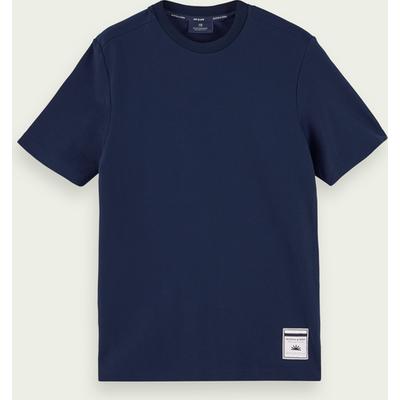 Scotch & Soda Kurzärmliges T-Shirt aus 100% Baumwoll-Twill