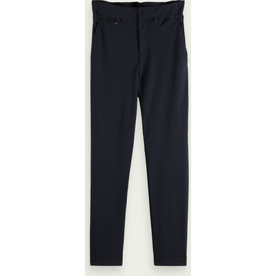 Scotch & Soda Strukturierte knöchellange High-Rise Hose | SCOTCH & SODA SALE