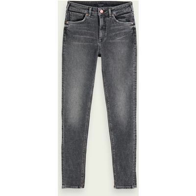 Scotch & Soda Haut– Touch Of Dust, High-Rise Skinny Fit Jeans mit Stretchanteil