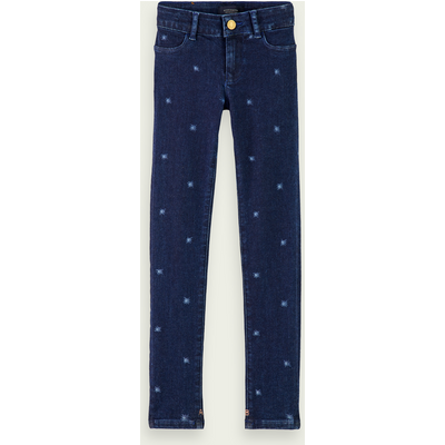 Scotch & Soda La Milou – Blue Reef – Bio-Baumwolle, Super Skinny Fit Jeans