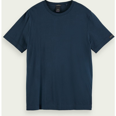 Scotch & Soda Basic-T-Shirt mit kurzem Arm aus Bio-Baumwolle | SCOTCH & SODA SALE