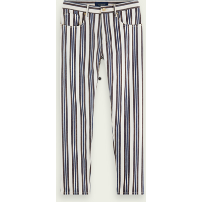 Scotch & Soda The Norm – Stripe Out, High-Rise Jeans