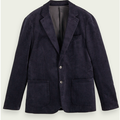 Scotch & Soda Einreihiger Blazer aus Bio-Kord | SCOTCH & SODA SALE