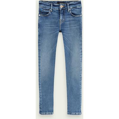 Scotch & Soda Tack– Indigo Isle, Mid Rise Super Skinny Fit Jeans