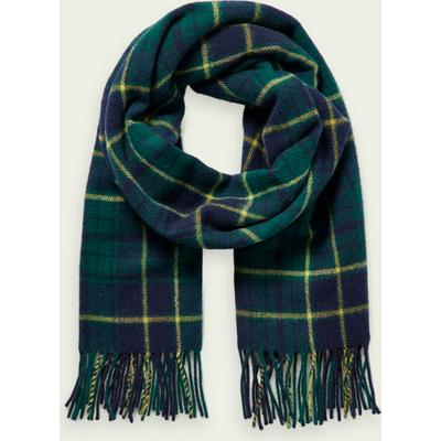 Scotch & Soda Karierter Schal aus weicher Wollmischung | SCOTCH & SODA SALE