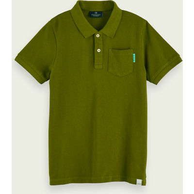 Scotch & Soda Kurzärmliges Poloshirt mit Tasche aus 100 % Baumwolle | SCOTCH & SODA SALE