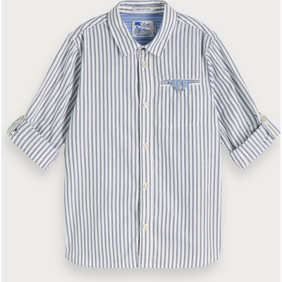 Scotch & Soda Gestreiftes Shirt, Regular Fit