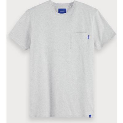 Scotch & Soda Basic T-Shirt mit Brusttasche