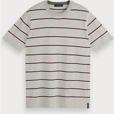 Scotch & Soda T-Shirt aus Baumwoll-Kaschmir
