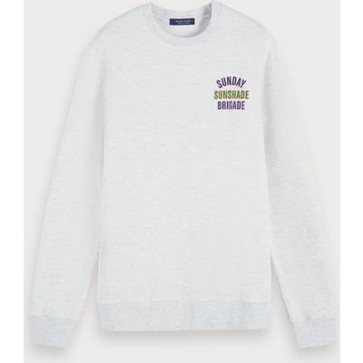 Scotch & Soda Meliertes Artwork-Sweatshirt