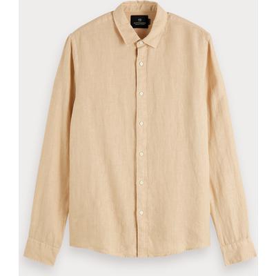 Scotch & Soda Leinen-Shirt, Regular Fit
