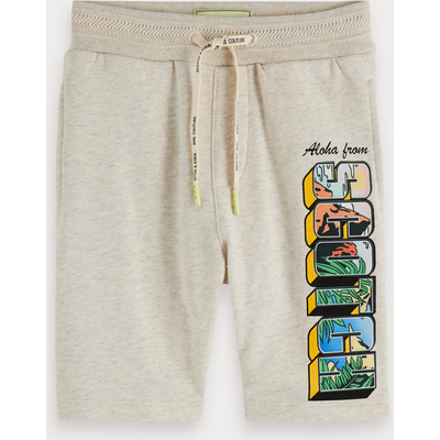 Scotch & Soda Sweatshorts mit Logo-Artwork