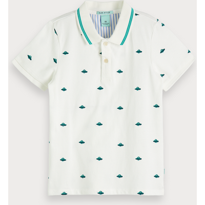 Scotch & Soda Poloshirt mit Stickerei