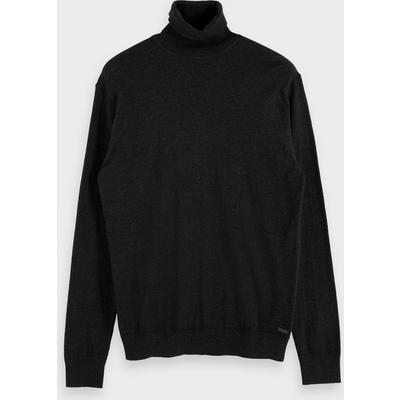 Scotch & Soda Cashmere blend turtleneck sweater