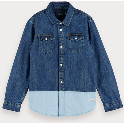 Scotch & Soda Denim-Shirt, Regular Fit