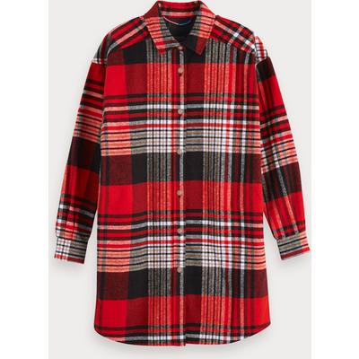 Scotch & Soda Kariertes Oversize-Shirt