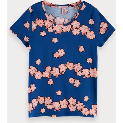 Scotch & Soda Boxy Fit T-Shirt mit Print
