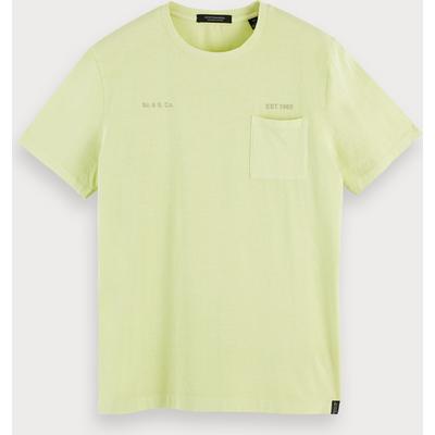 Scotch & Soda T-Shirt mit Waschung und Rundhalsausschnitt