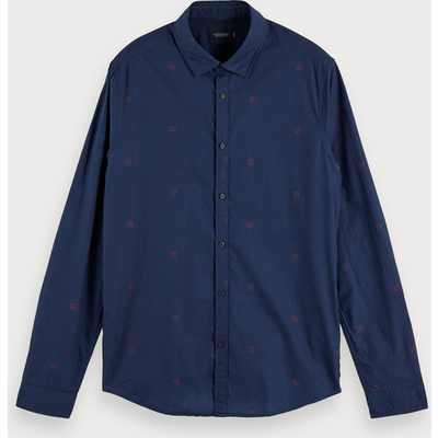 Scotch & Soda Gemustertes Shirt, Slim Fit