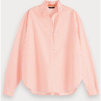 Scotch & Soda Popover-Shirt in Oversize-Passform