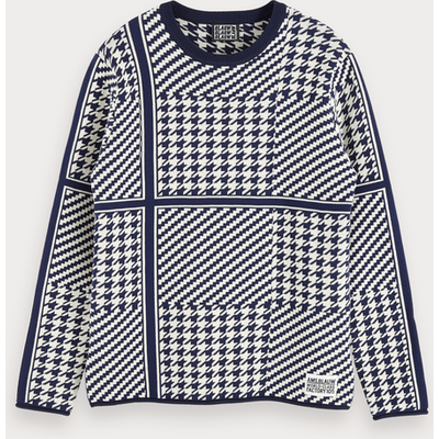 Scotch & Soda Pullover mit Muster-Mix