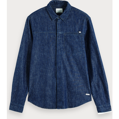 Scotch & Soda Effektvolles Denim-Shirt