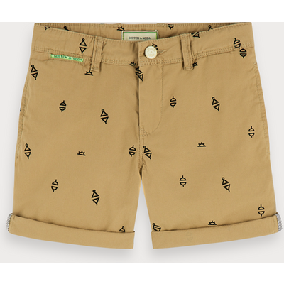 Scotch & Soda Chino-Shorts mit Print