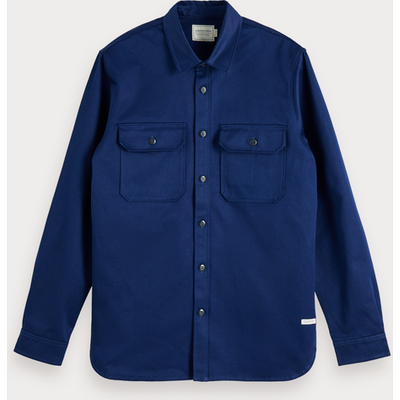 Scotch & Soda Klassisches Utility-Shirt, Regular Fit