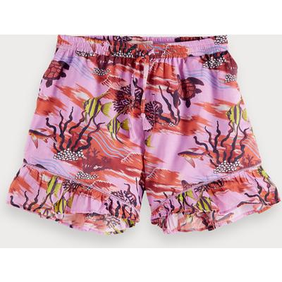 Scotch & Soda Shorts mit Unterwasser-Print