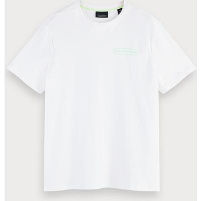 Scotch & Soda Kurzärmliges Basic T-Shirt