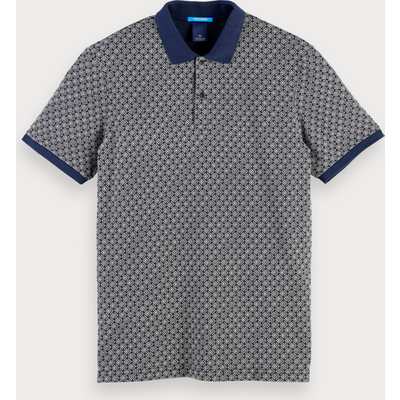 Scotch & Soda Poloshirt mit Print