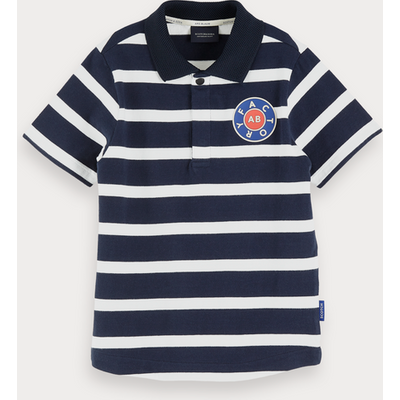 Scotch & Soda Gestreiftes Poloshirt