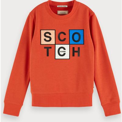 Scotch & Soda Sweatshirt mit Artwork-Logo