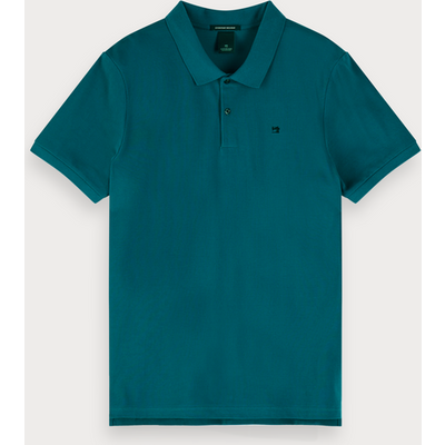 Scotch & Soda Klassisches Poloshirt aus Baumwoll-Piqué
