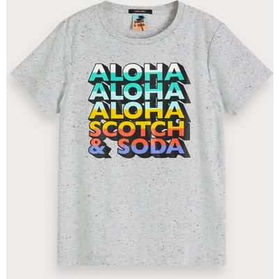 Scotch & Soda Effektvolles T-Shirt mit Artwork