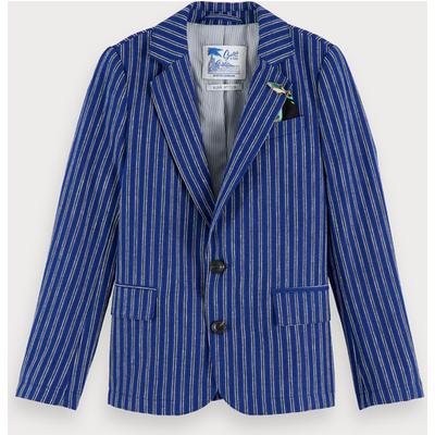Scotch & Soda Cotton-linen blazer