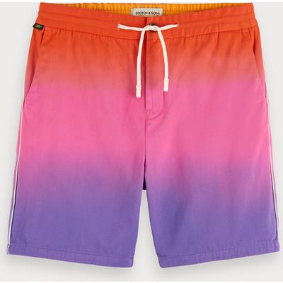 Scotch & Soda Shorts aus Baumwoll-Twill mit Farbverlauf