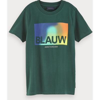 Scotch & Soda T-Shirt mit Blauw-Artwork