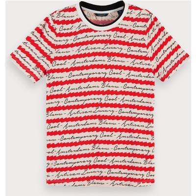 Scotch & Soda T-Shirt mit Allover-Print