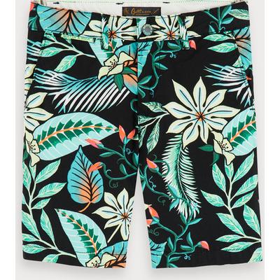 Scotch & Soda Shorts mit Tropic-Print